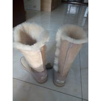Quality Womens Winter Sheepskin Boots Button Triplet   1873 brand lady snow boots Bailey Button Triplet  Snow Boots for Lady for sale