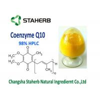 Quality Raw Material Coenzyme Q10 Powder Supplement 99% Purity Anti Aging CAS 303 98 0 for sale