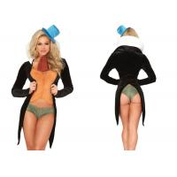 Quality Five Piece Sexy Women Halloween Costumes ,  Charming Cricket Ladies Halloween Costumes for sale