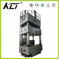 Quality 800tons Y32 Four-Column Hydraulic Press  Hydraulic Metal Hole Punch Press For Plate Stretch Forming for sale