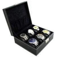 Quality wooden watch display for sale