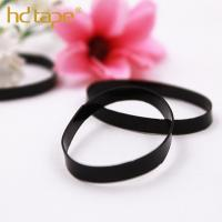 Buy cheap Black high quality plastic tpu elastic rubber band for hair tie from wholesalers