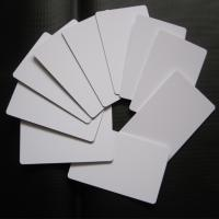 Quality Directly Printing Inkjet PVC Card White Color Buiness ID Card Printable for sale