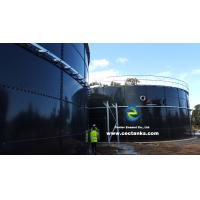 Quality Blue Fire Water Storage Tanks With ISO 9001 Certification For Fire Sprinkler Systems for sale