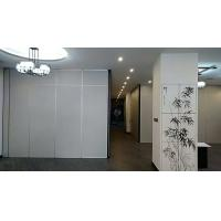 Quality Commercial Aluminium Sliding Door / Office Folding Room Dividers Multi Color for sale
