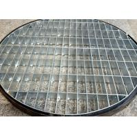 China Galvanized Pressed Locked Steel Grating Trench Cover / Stainless Steel Drain Cover on sale