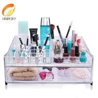 Quality Advantage price Clear acrylic makeup box for sale