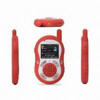 Quality Multimedia Interphone, MP3 or MP4 Player, 1-to-1/One-to-many Free Inter-talk without License/Network for sale