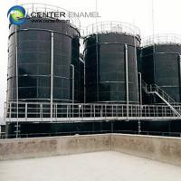 Quality Glass - Fused - To - Steel Bolted Biogas Storage Tank With 30 Years Service Life for sale