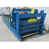 Quality Corrugating Iron Roofing Sheet Making Machine Metal Roofing Equipment 8m/min - 12m/min for sale