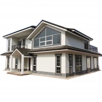 Quality manufacture supplier the latest design prefabricated house villa of prefabricated for sale
