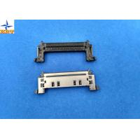 Buy cheap Single Row SATA Connectors 0.5mm Pitch 50V AC / DC SMT Inventer ATA Connectors from wholesalers