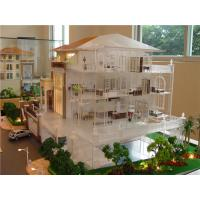 Quality Miniature scale model villa with interior furniture , handmade architectural model making factory for sale