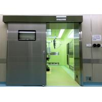 Quality Medical Operating Room Automatic Hermetic Sliding Door Stainless Steel for sale