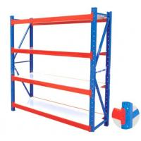 Quality Metal Heavy Duty Warehouse Storage Racks , Adjustable Industrial Steel Shelves for sale