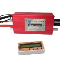 Quality HV Red Waterproof Brushless ESC 22S 400A 12 Months Warranty For RC Hobby Boat for sale