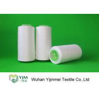 Quality 2/20 Raw White Textile Yarn Polyester Spun Yarn For Sewing Thread for sale