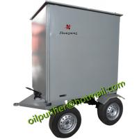 Trailer Type Wheel Mounted Vacuum Used Transformer Oil Recycling/Insulation Oil Filtering/Dielectric Oil Treatment Equip