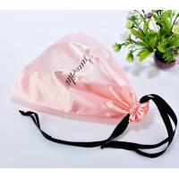 Quality large satin dust bag for handbag satin dust cover drawstring bag for handbag for sale