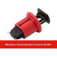 Quality 7G POS Red Effective Nylon PA  Miniature Circuit Breaker Lockout for sale
