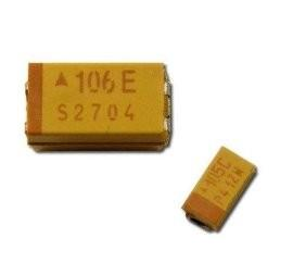Quality T490A476M010ATE1K0 47uF Tantalum Surface Mount Capacitors for sale