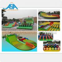 Buy cheap Customized Inflatable Amusement Park Adults Giant Inflatable Obstacle Course from wholesalers