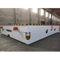China Industrial Platform Material Transfer Cart , Railway Coil Cable Drum Load Transfer Trolley on sale