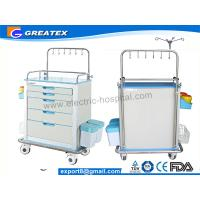 Buy cheap Multifunction 5 Drawers Steel Mobile Medical Procedure Carts / Medical Equipmen Trolley from Wholesalers