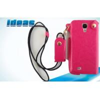 Quality Rose Color Samsung Galaxy Leather Protection Cases Dustproof For Girls for sale