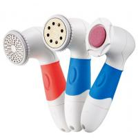 Quality Blue Waterproof IPX7 Spin Pedicure Device With 3 Attachments for sale