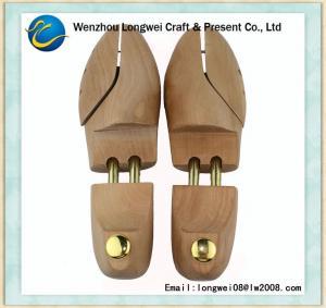 Quality Custom Adjustable Wood Shoe Tree , Ladies Wooden Shoe Stretcher for sale