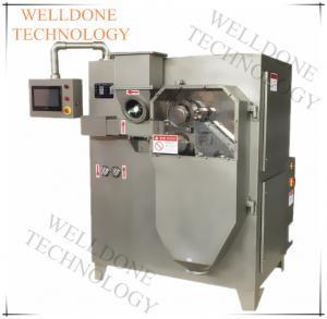 Quality Cassava Starch Dry Granulator Machine Vertical Feeding PLC / Touch Screen for sale