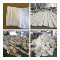 China High temperature woven fiberglass filter bag for baghouse for cement plant on sale