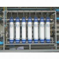 China Industrial Water Purification System with 1,000L/Hour Capacity and Hollow Fiber UF Membrane Type on sale