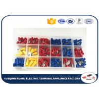 Quality Tin plated Assorted Insulated electrical terminal kit Terminator KLI-9920284 300pcs for sale