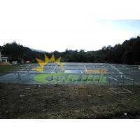Quality AS/NZS 1170 Ground Mount Solar Racking Easy Installation for sale