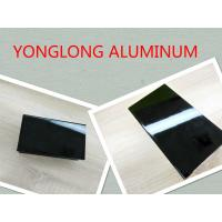 Quality Electrophoretic Black Pearls Aluminum Window Frame Profile Normal Length 6m for sale