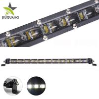 Quality Single Row Jeep Led Light Bar 6 D Over 50000 Hours PMMA Lens Material for sale