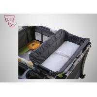 Quality Oxford Fabric Baby Trend Playpen  , Baby Crib Playpen Arcuate Anti Scraping Corner for sale