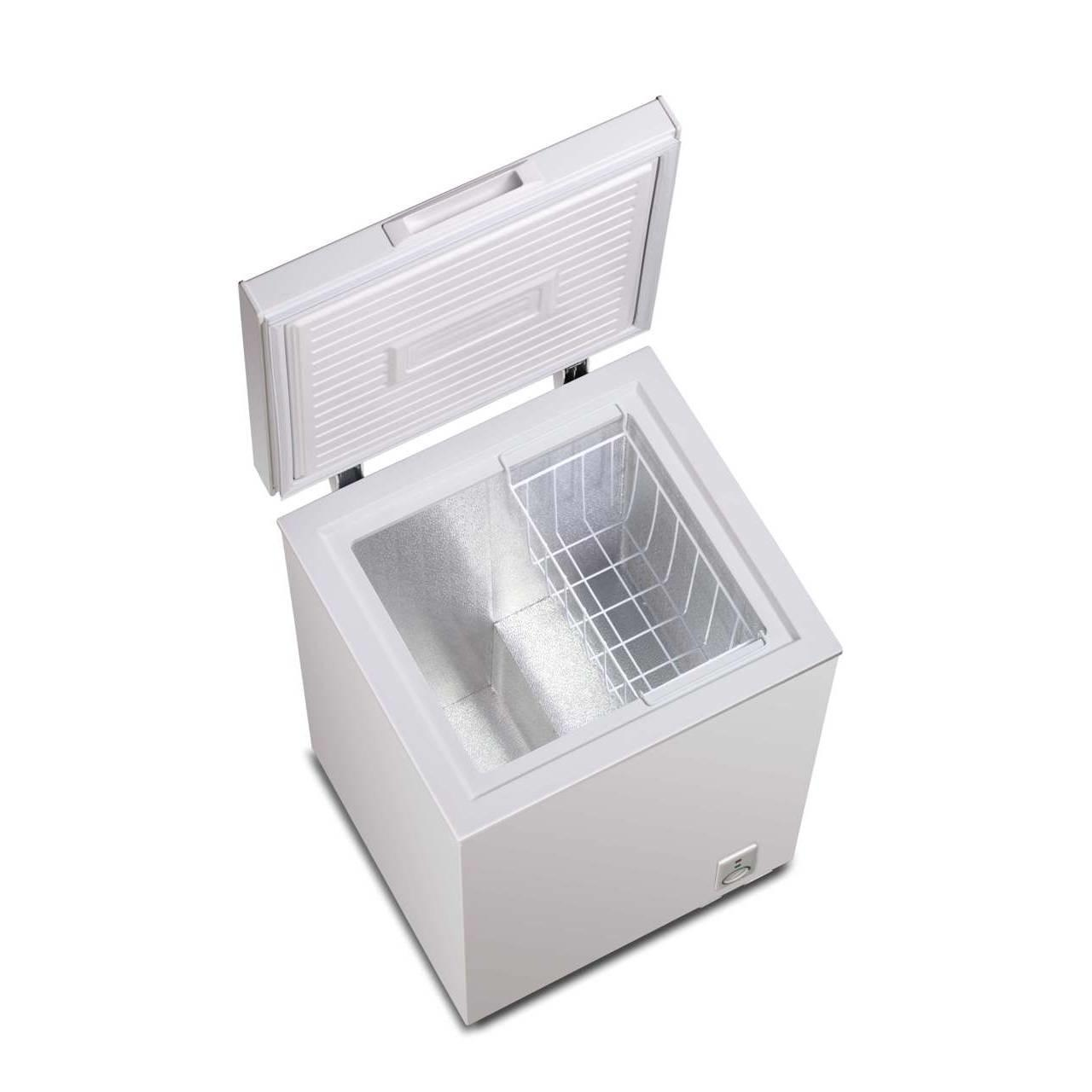 Quality Supermarket Flexible Energy Efficient Chest Freezer With LED Light for sale