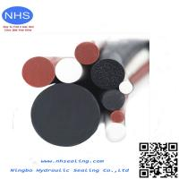 China Heat Resistant Solid O-Ring Silicone Rubber Cord for Industrial Component on sale