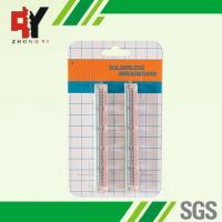 Quality Transparent Self Adhesive Solderless Bread Board ABS 25 Points for sale
