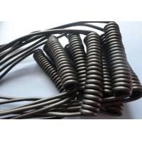 Quality Retractable Spiral Power Cable , 2 Core Coiled Electrical Cord High Flexibility for sale