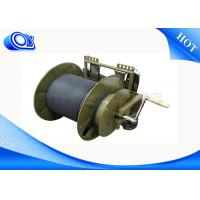 Quality TPU Jacket Military Grade Fiber Optic Cable Single Mode For Video Transmitting for sale