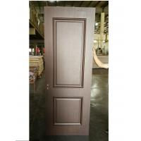 Quality Luxury Style Two Panel MDF Wood Doors Customized Handle For Apartment / Hotel for sale