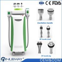 Quality hot sale 5 handles cryolipolysis slimming machine for weight loss fat freeze slimming with CE FDA approval for sale