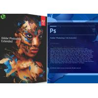 Quality Geniune Microsoft Adobe Photoshop CS6 Software For Beginning / Artwork Design for sale
