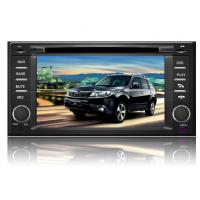 Quality Subaru Forester Bluetooth 2 Din Car DVD Player with Multi-Language OSD,IPOD,DVB-T for sale
