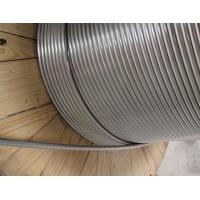 China Stainless Steel S32750 Coiled Steel Tubing For Control Line Oil And Gas Extraction on sale
