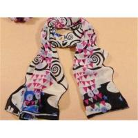 Quality long silk satin scarf shawl for sale